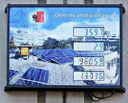 Panneaux solaires photovolta ques energie - Compteur de production photovoltaique ...
