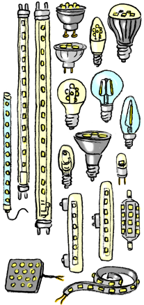 ampoules et lampes energie. Black Bedroom Furniture Sets. Home Design Ideas
