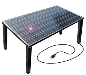Table solaire
